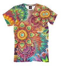 Good mood - psy T-shirt hippie 3d print colorful mandala EDM dance psyhedelic