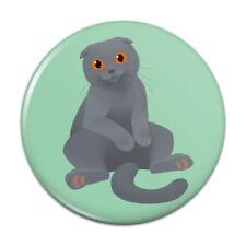 Scottish Fold Cat Compact Pocket Purse Hand Cosmetic Makeup Mirror