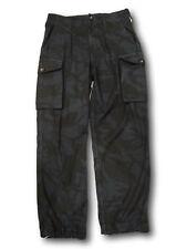 REGNO Unito Deserto DPM Combattimento Pantaloni, redyed ARDESIA, REMADE Artisan Pantaloni