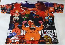 Custom Mike Tysons Punch Out Sublimated Shirt  pantone powder legend carolina