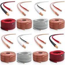 deleyCON 10m bis 100m Lautsprecherkabel Boxenkabel HiFi Kabel 0,75mm²  -  4,0mm²