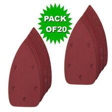 20 X Mouse Sanding Sheets  Black and Decker Detail Mouse Palm Sander Sandpaper