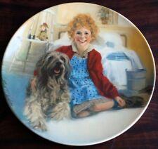 "KNOWLES/Wm. Chambers ""ANNIE & SANDY"" Ltd Ed. Plate"