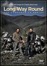 Long Way Round (DVD) MOTORBIKES EWEN MCGREGOR USED