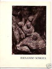 Fernando Somoza Spanish Painter Prado Exhibition 1965