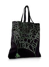 NEW Bath & and Body Works BLACK Halloween trick or treat TOTE BAG handbag purse