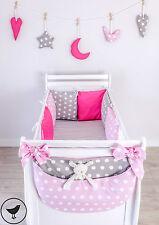Nestchen/Bettumrandung Kissen Baby Nestchen Bettumrandung 210 cm 6 tlg  LOOLAY