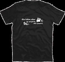 Una vida sin Chopper motocicleta bike es posible diseño funshirt t-shirt S-XXXL