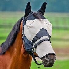 Horze Micromesh No Rub Long Nose Sun Protection Fly Mask Pony Cob Horse
