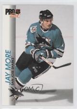 1992-93 Pro Set #169 Jay More San Jose Sharks Hockey Card