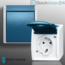Busch Jaeger Ocean Feuchtraum Schalter Steckdosen Wassergeschützt Aufputz