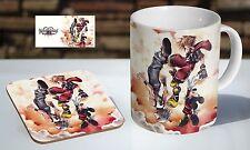 Dream Drop Distance Kingdom Of Hearts Tea / Coffee Mug Coaster Gift Set