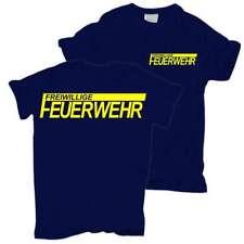 T-Shirt FFW Freiwillige Feuerwehr NEONGELBER Druck Verein ort geschenk beruf