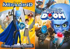 Megamind/Megamind: The Button of Doom (DVD, 2011, 2-Disc Set) BRAND NEW SEALED