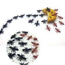 100-1000pcs Plastic Fake Ants Pranks Toy Halloween Joke Insect Miniature Decor
