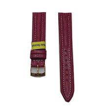 Morellato cinturino Ontario Squalo WATER RESISTANT rosso impunture bianco b178