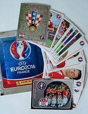 Panini Sticker UEFA EURO 2016 EM Team Kroatien NR. 351, 352, 431-456 AUSWÄHLEN !