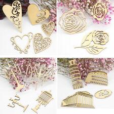 DIY Laser Cutting Wooden Embellishments For Scrapbooking Cardmaking Craft Decor