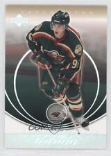 2003-04 Upper Deck Trilogy #47 Pierre-Marc Bouchard Minnesota Wild Hockey Card