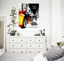 3D Fast Furious Wall Stickers Vinyl Murals Wall Print Decal Deco Art AJ STORE AU