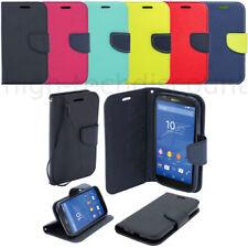 Housse etui coque pochette portefeuille pour Sony Xperia Z5 Compact + film ecran