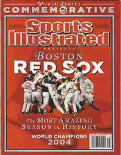 2004 BOSTON RED SOX SPORTS ILLUSTRATED COMMEMORATIVE WORLD SERIES CHAMPIONS SI