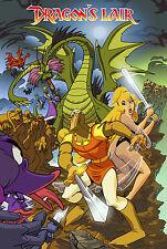 Dragon's Lair Game Poster |4 Sizes| Arcade PS PC Sega CD LaserDisc Amiga Atari