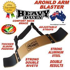 HEXA PRO ARNOLD WEIGHT LIFTING BODYBUILDING BICEP ARM BLASTER EZ BAR CURL ARMS