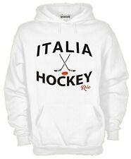 Felpa Con Cappuccio KJ1090 Italia Hockey Nazionale Olimpica Paraolimpiadi