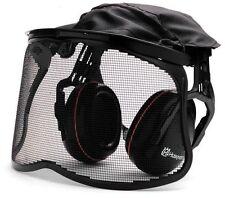 Gehörschutz Husqvarna Netz oder Plexiglas Visier Kopfschutz Motorsense Motorsäge