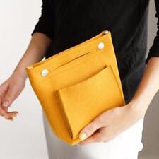 Large Capacity Purse Organizer Felt Bag Handbag Portable Pouch Bags Gifts