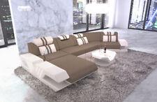 Pads Interior Design Design Fabric Sofa Venice C Shape Recamiere Lights+USB