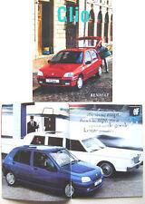 Renault Clio Mexx Fidji 1997-98 Original Dutch Brochure