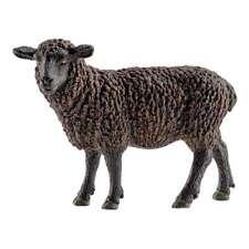 Schleich Farm Life, Pecora Nera, Animali della Fattoria, Giocattoli, 6,5cm 13785