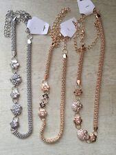Gold and Silver Tone Ladies Girls Waist Chain Charm Belt Fashion