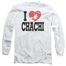 Happy Days I Heart Chachi Mens Long Sleeve Shirt