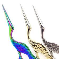 Mini Stork Crane Scissors Antique Cutter Embroidery Cross Stitch Sewing DIY Tool