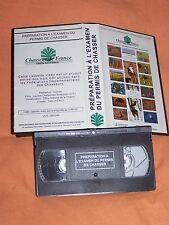 K7  cassette vidéo de la préparation à l'examen du permis de chasser