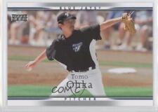 2007 Upper Deck 998 Tomokazu Ohka Toronto Blue Jays Tampa Bay Rays Baseball Card