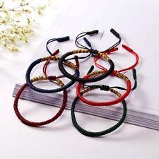 Handmade Love Lucky Tibetan Bracelets & Bangles For Women Men Knot Rope Bracelet