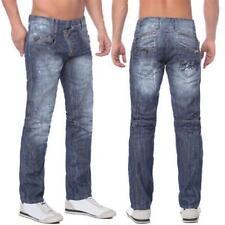 Cipo & Baxx C 751 Herren Denim blue raw Jeans Hose Jeanshose Männer Zipper blau