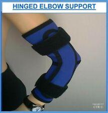 Proline con bisagra Codo Soporte Azul Neopreno MEDICINAL brazo apoyo protección