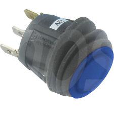 1St WIPPSCHALTER Ein-Aus  spritzwassergeschützt IP65 12 V 20A  @ 14V DC LED blau