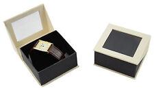 Reloj De Lujo Serie Dubai/Cajas Cartón Con Bisagras Joyas Regalo Brazalete