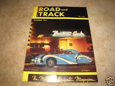 Road & Track magazine December 1951 Aston Martin DB-2 Mercedes 300 road test