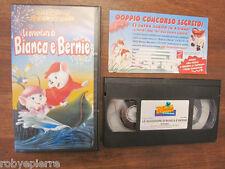 Videocassetta vhs I classici walt disney le avventure di bianca e bernie VS 4688