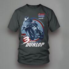 Official Bennetts Suzuki Michael Dunlop Charcoal Grey T Shirt - 17SBSB-363AT