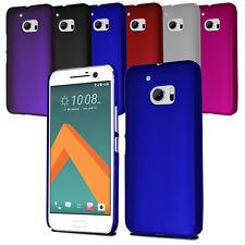 Para HTC 10 Ultra Slim Armour Hard Case Clip en la espalda cubierta y protector de pantalla