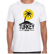Turquía 2018 para hombre Camiseta de Palma de destino de vacaciones