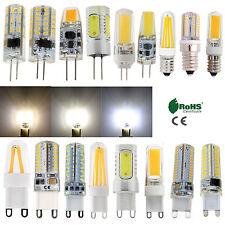 G4 G9 E14 à Variation Silicone Cristal Led Maïs Lampe Filament Ampoule Clair